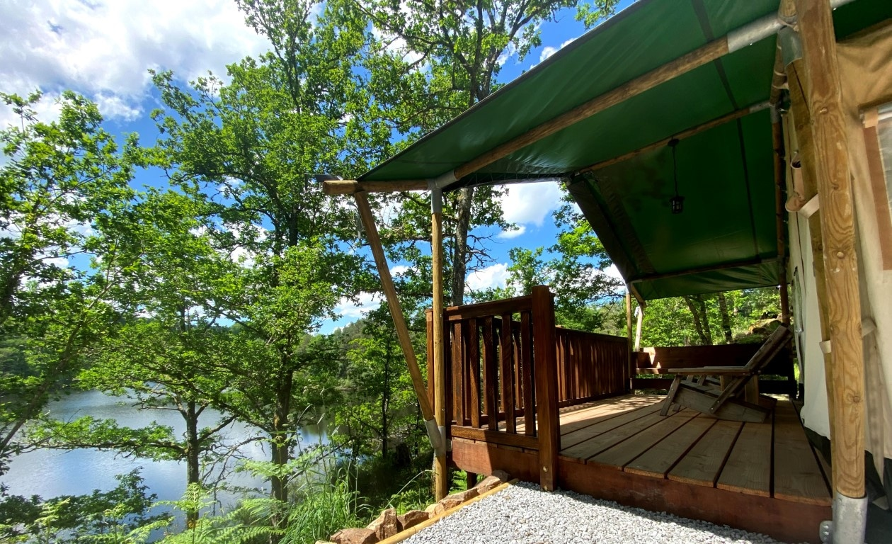 Glamping des Combes